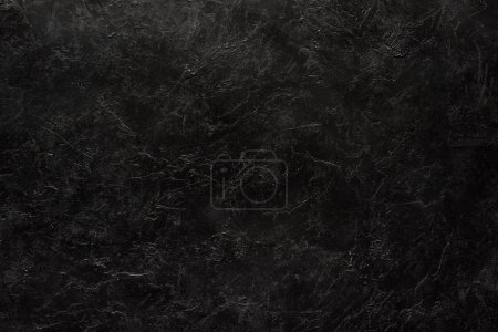 Photo for Close-up view of black scratched textured background - Royalty Free Image