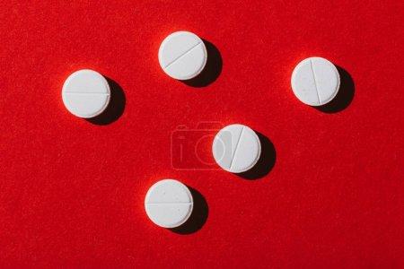 Round white pills