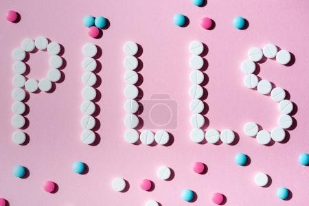 Word pills from medicines