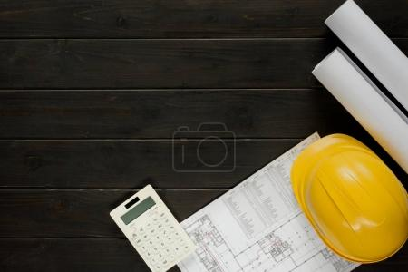 Arranged architectural equipment
