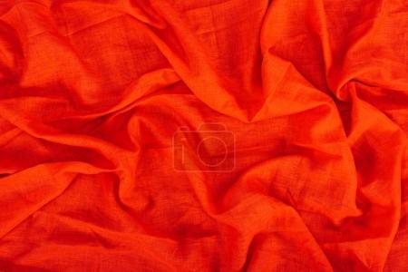 Red linen texture