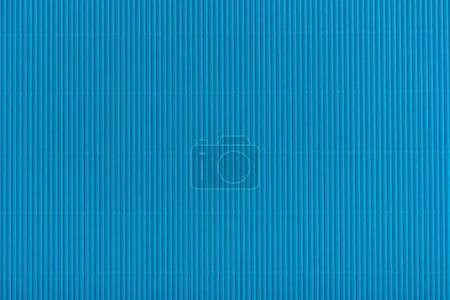 Photo for Close up view of blue cardboard texture - Royalty Free Image