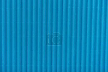 Photo pour Bouchent la vue de la texture de carton bleu - image libre de droit
