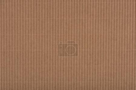 Photo for Close up view of brown cardboard texture - Royalty Free Image