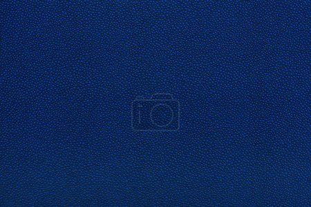 Photo for Close up view of blue leather fabric texture - Royalty Free Image