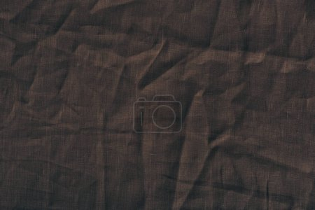brown linen fabric texture