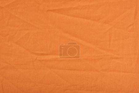 orange linen fabric texture
