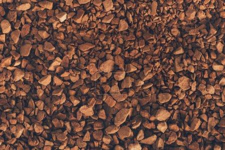 instant coffee texture