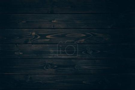 Photo for Wooden black grungy striped background - Royalty Free Image