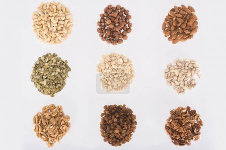 assorted delicious nuts