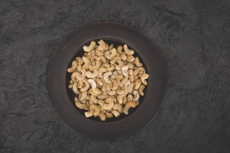 delicious cashew on plate
