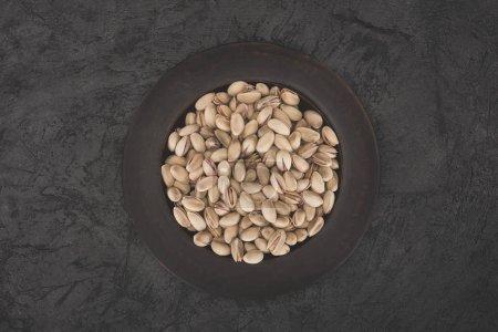 pistachios on plate