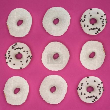 White doughnuts