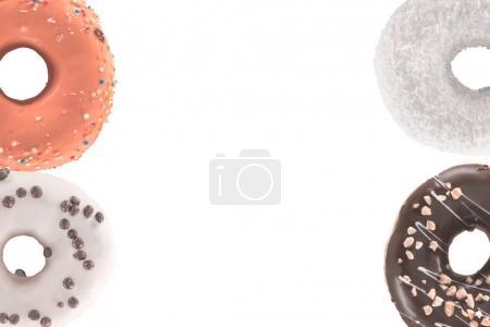 glazed donuts with sprinkles