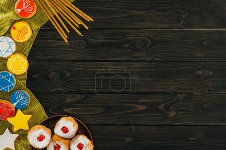 hanukkah celebration background