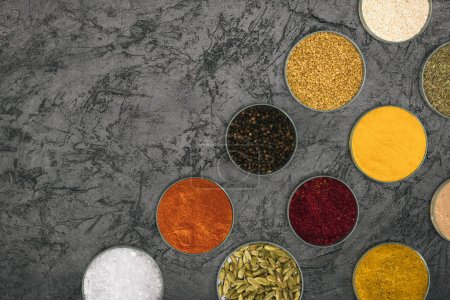 colored spices