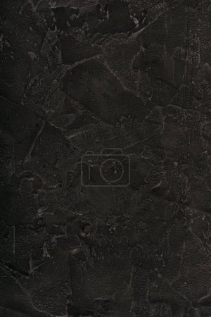 Photo for Close-up view of black grungy abstract background - Royalty Free Image