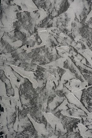Photo for Close-up view of grey grungy textured abstract background - Royalty Free Image