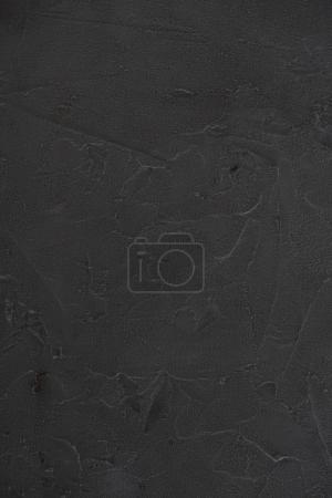 Photo for Close-up view of black textured abstract background - Royalty Free Image