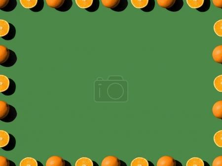 frame from oranges