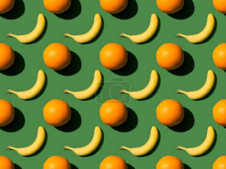 oranges and bananas pattern