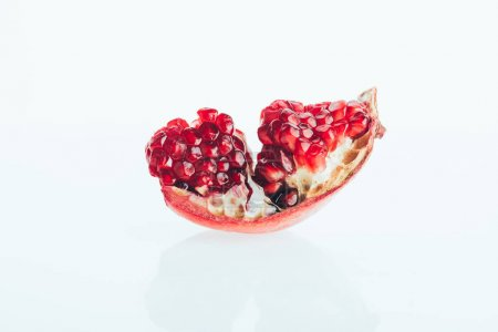 One piece of pomegranate