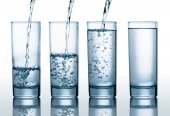 glasses with different level of water