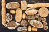 """Постер, картина, фотообои """"Ассортимент домашнего хлеба"""""""