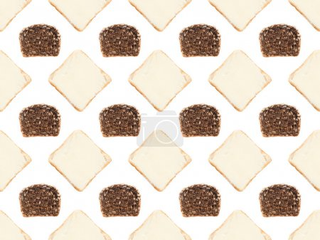 bread slices pattern