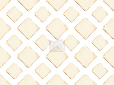 toasts with butter pattern