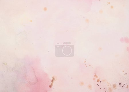 Photo for Light pink and purple watercolor background - Royalty Free Image