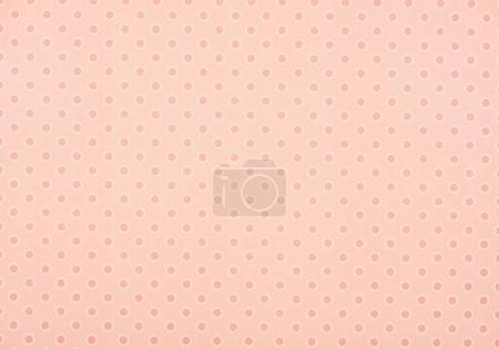 set of pink with white circles on pink