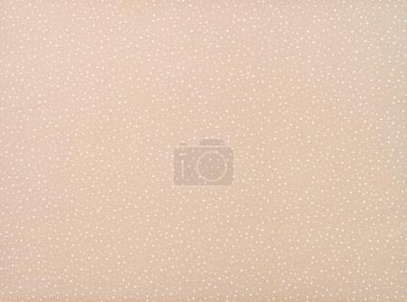 Photo for Set of different sized white circles on beige - Royalty Free Image