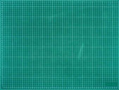 green scale with small squares background
