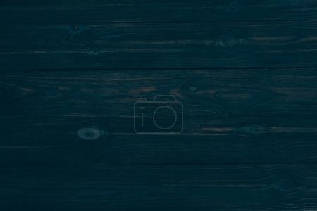 Photo for Top view of dark rustic wooden background with horizontal planks - Royalty Free Image