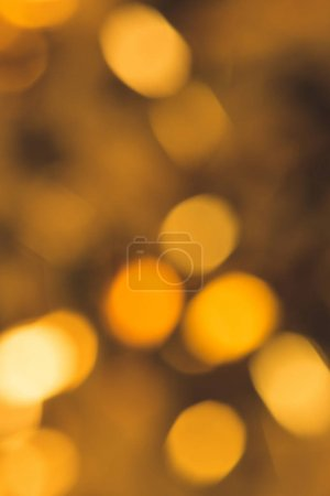 Photo for Full frame of defocused bright christmas festive lights - Royalty Free Image