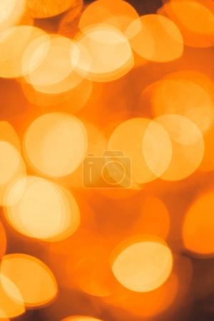 full frame of defocused bright christmas festive lights
