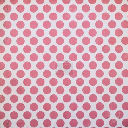 Foto de Diseño de contenedor blanco con círculos rojos - Imagen libre de derechos