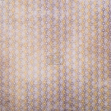 Retro lozenges pattern wrapper design...