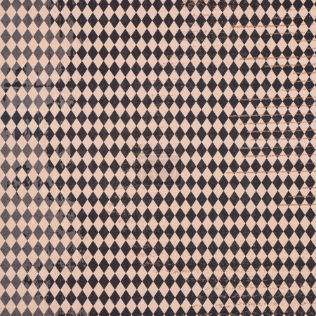 black and beige lozenges wrapper design