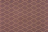 brown wrapper design with curve lines