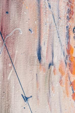 close up of abstract multicolor texture with artistic splatters