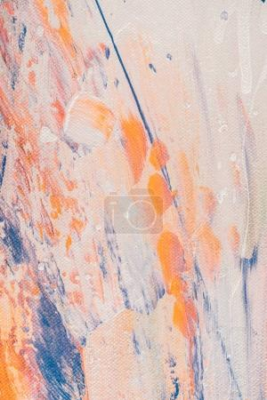 close up of abstract vibrant background with oil paint splatters