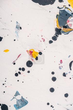 abstract texture with oil paint stains