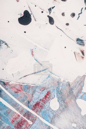 abstract background with splatters of oil paint