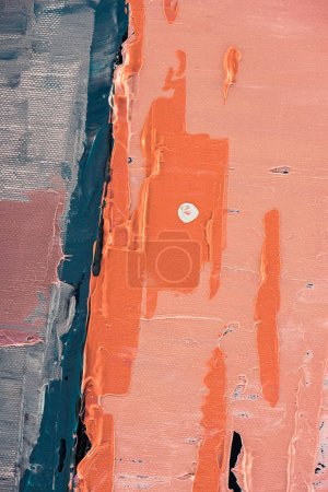 orange brush strokes on abstract artistic background