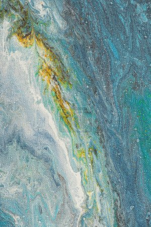 abstract texture with light blue oil paint