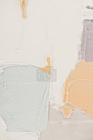coups de pinceau lumineux sur fond Abstrait huile