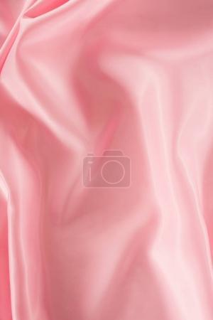 pink shiny satin fabric background