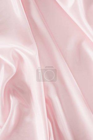 fondo de tela de satén brillante rosa claro